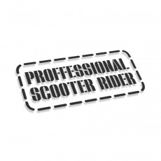 Proffessional Scooter Rider