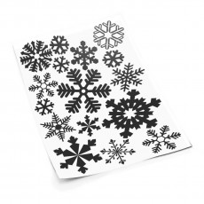 Snowflakes S sticker set