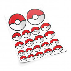 Pokeball S sticker set