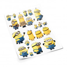 Minion S sticker set