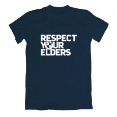 Respect Your Elders BMW T-shirt Navy