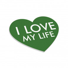 I Love My Life Heart V4