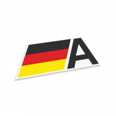 Audi Germany Flag