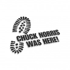 Chuck Norris Was Here V2