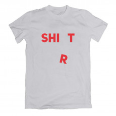 Shirt Shit T-shirt Grey