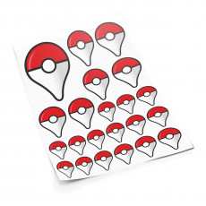 Poketag S sticker set