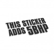 This Sticker Adds 5 Bhp V2