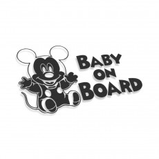 Mickey Mouse Baby On Board