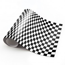 Black And White Checkers L