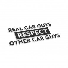 Real Car Guys Respect Other Car Guys