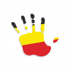 Germany Flag Hand