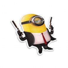 Minion With Guns