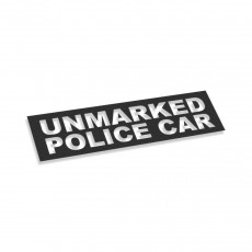 Unmarked Police Car