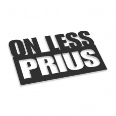 On Less Prius