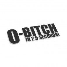 0 Till Bitch In 2.5 Seconds