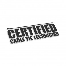 Certified Cable Tie Technician