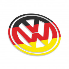 Germany Flag Volkswagen