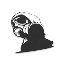 Dub Step Gas Mask