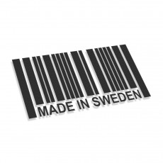 Made In Sweden Barcode