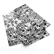 Black And White Stickerbomb V3 3X S komplekts
