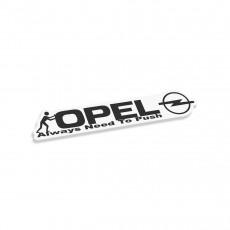 Opel Always Need To Push