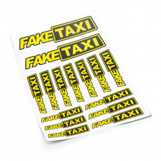 Fake Taxi S sticker set