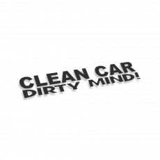 Clean Car Dirty Mind