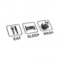 Eat Sleep Wash Hands