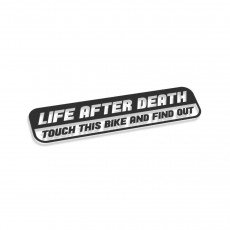 Life After Death Touch This Bike And Find Out