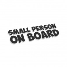 Small Person On Board