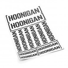 Hoonigan V2 S sticker set