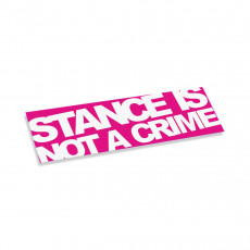 Stance Is Not A Crime V2